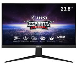"MSI Optix G241 Full HD 24"" IPS LCD Gaming Monitor - Black"
