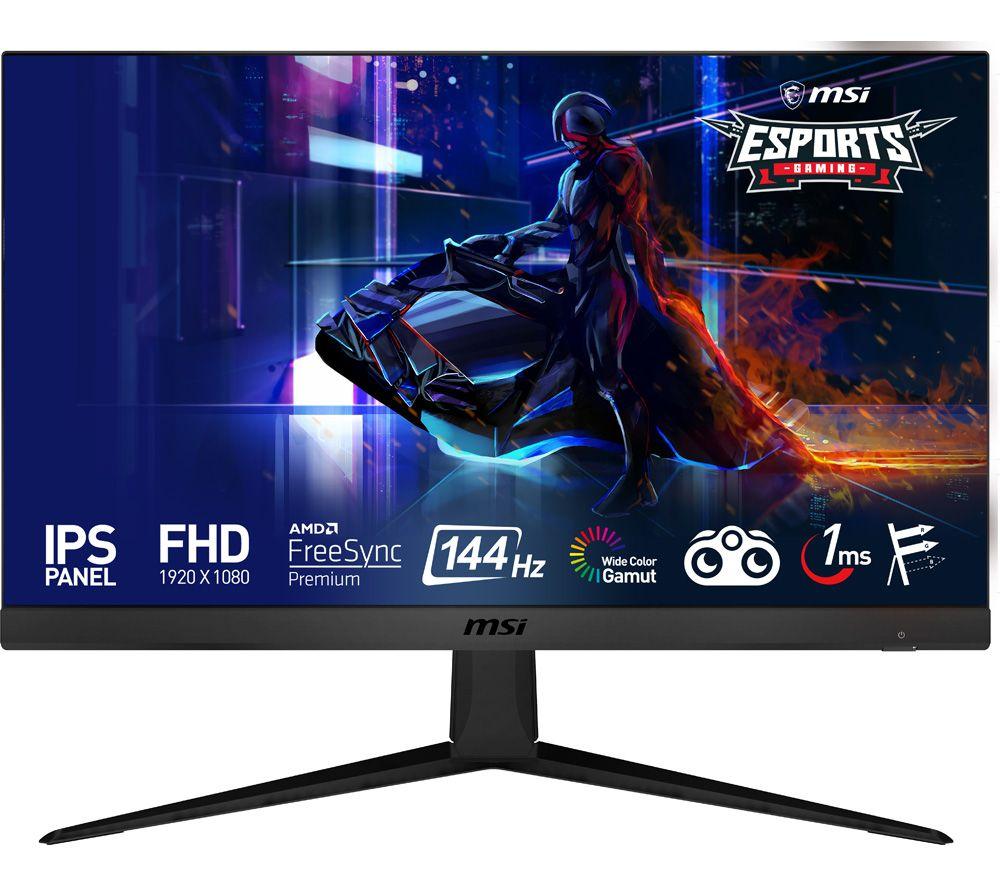 "MSI Optix G241 Full HD 24"" IPS LCD Gaming Monitor - Black"