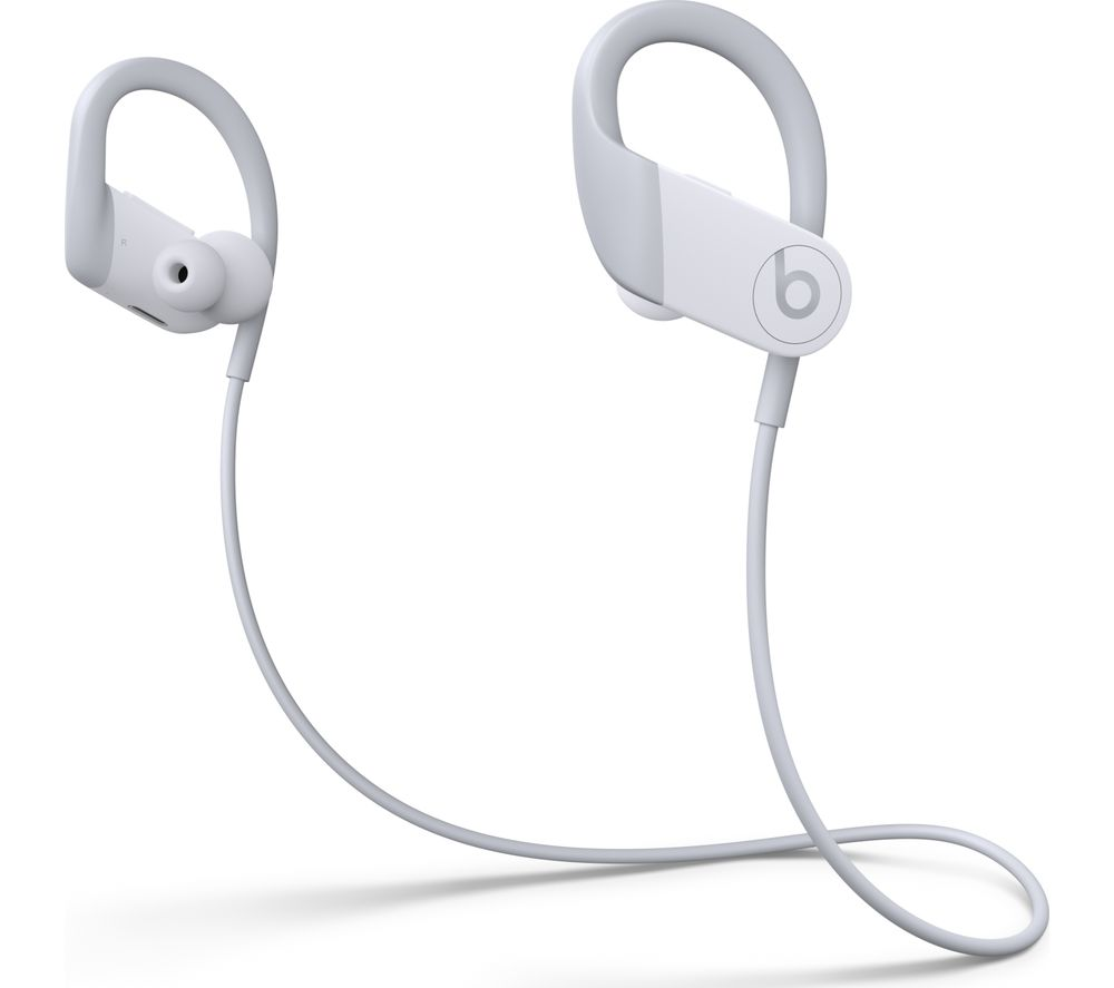 Image of BEATS Powerbeats High-Performance Wireless Bluetooth Sports Earphones - White, White