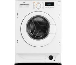 LOGIK LI8W6D20 Integrated 8 kg Washer Dryer