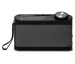 Classic 993 Portable FM Radio - Black