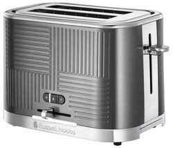 Geo Steel 2-Slice Toaster - Silver