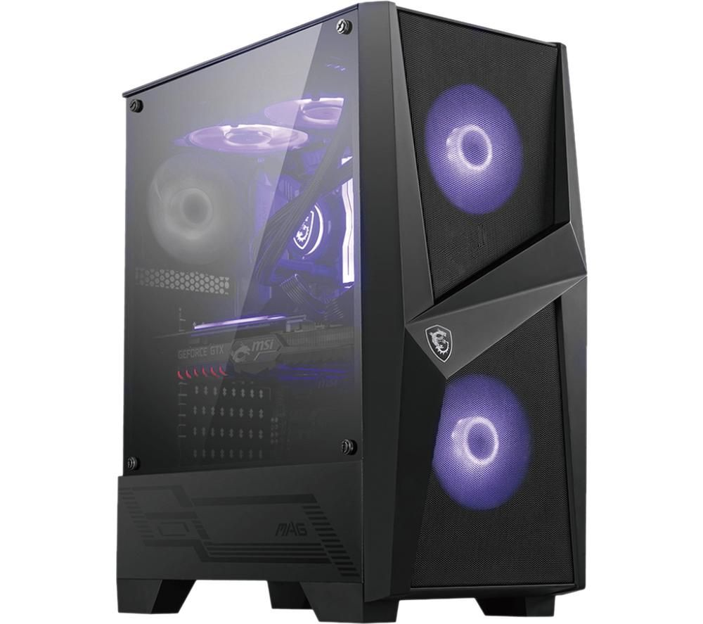 Image of MSI MAG Forge 100M ATX Mid-Tower PC Case
