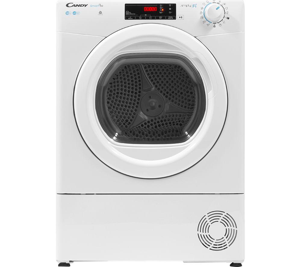 CANDY Smart Pro CSO C10TG WiFi-enabled 10 kg Condenser Tumble Dryer - White, White