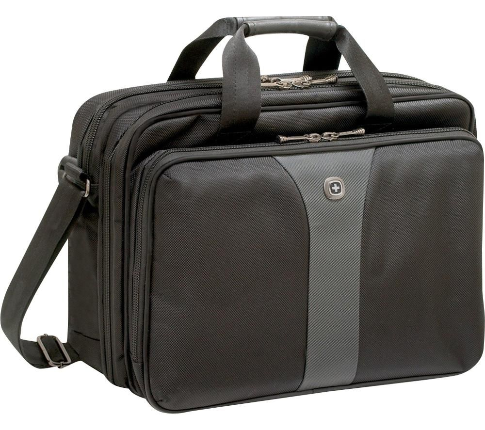 Image of Wenger Laptop bag Legacy Double Gusset Suitable for up to: 40,6 cm (16) Black, Grey