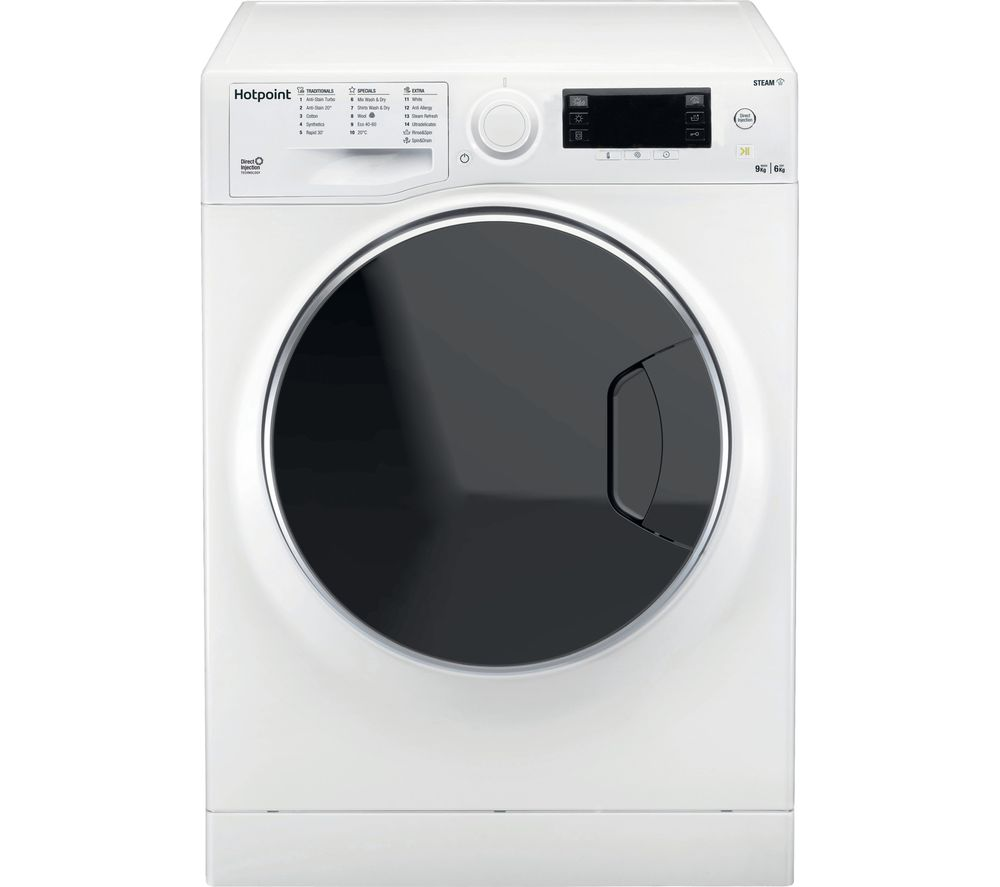 HOTPOINT Ultima S-Line RD 966 JD UK N 9 kg Washer Dryer - White