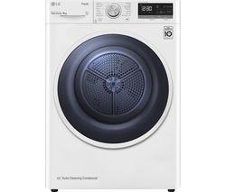 FDV309W WiFi-enabled 9 kg Heat Pump Tumble Dryer - White