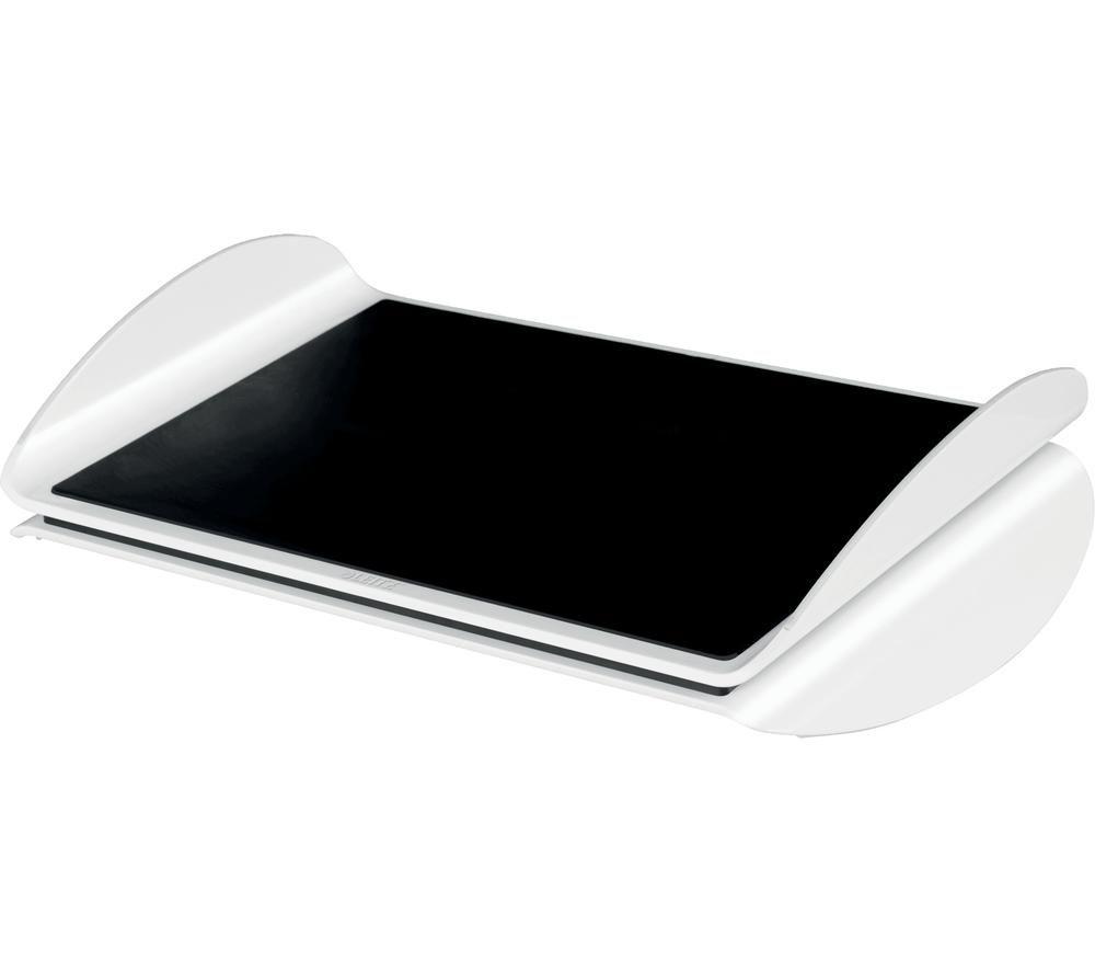 LEITZ Ergo WOW Footrest - Black & White