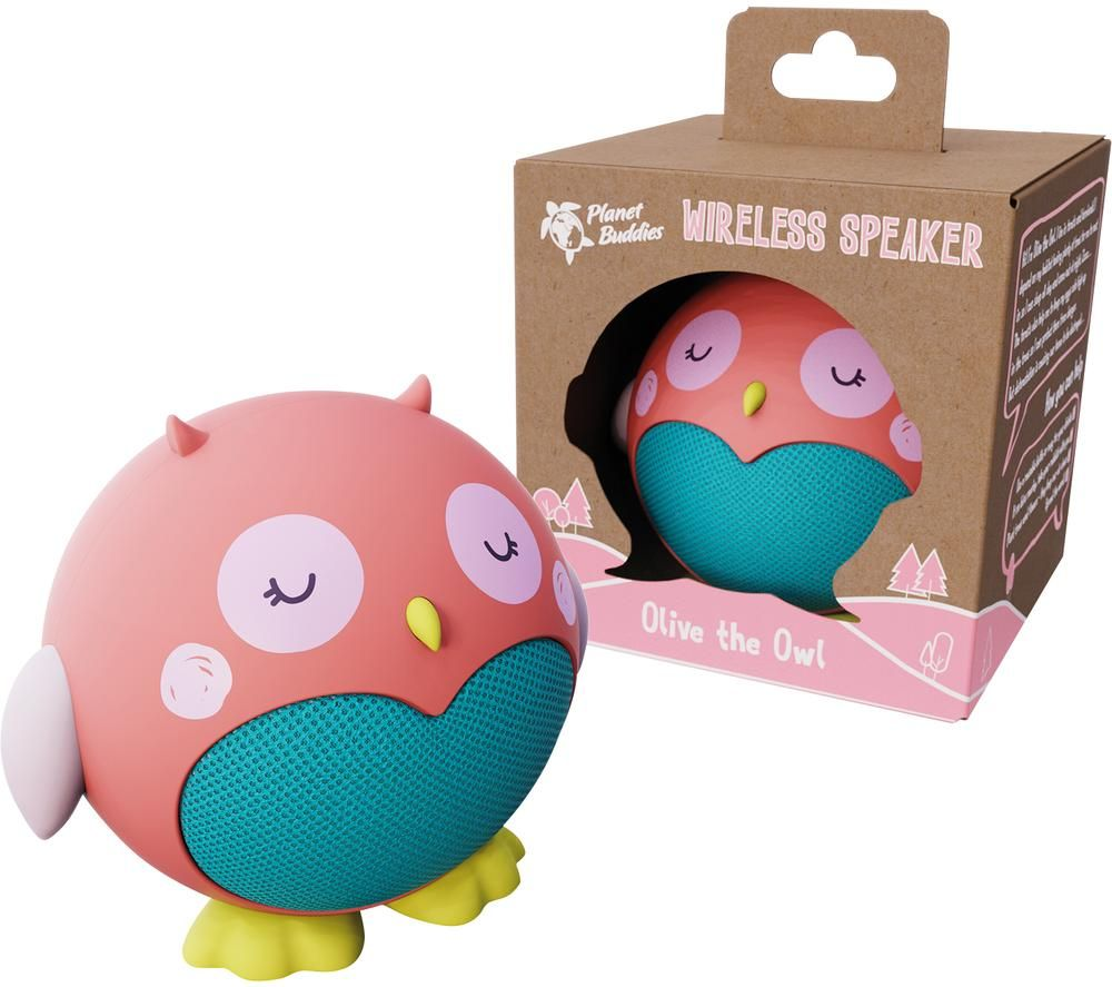 PLANET BUDDIES PBOWSP Portable Bluetooth Speaker - Olive the Owl, Olive