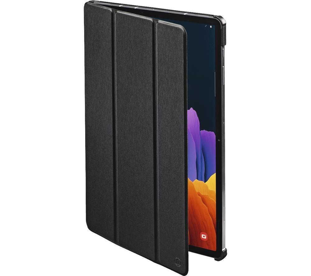 """HAMA Essential Fold 12.4"""" Samsung Galaxy Tab S7+ Case - Black"""