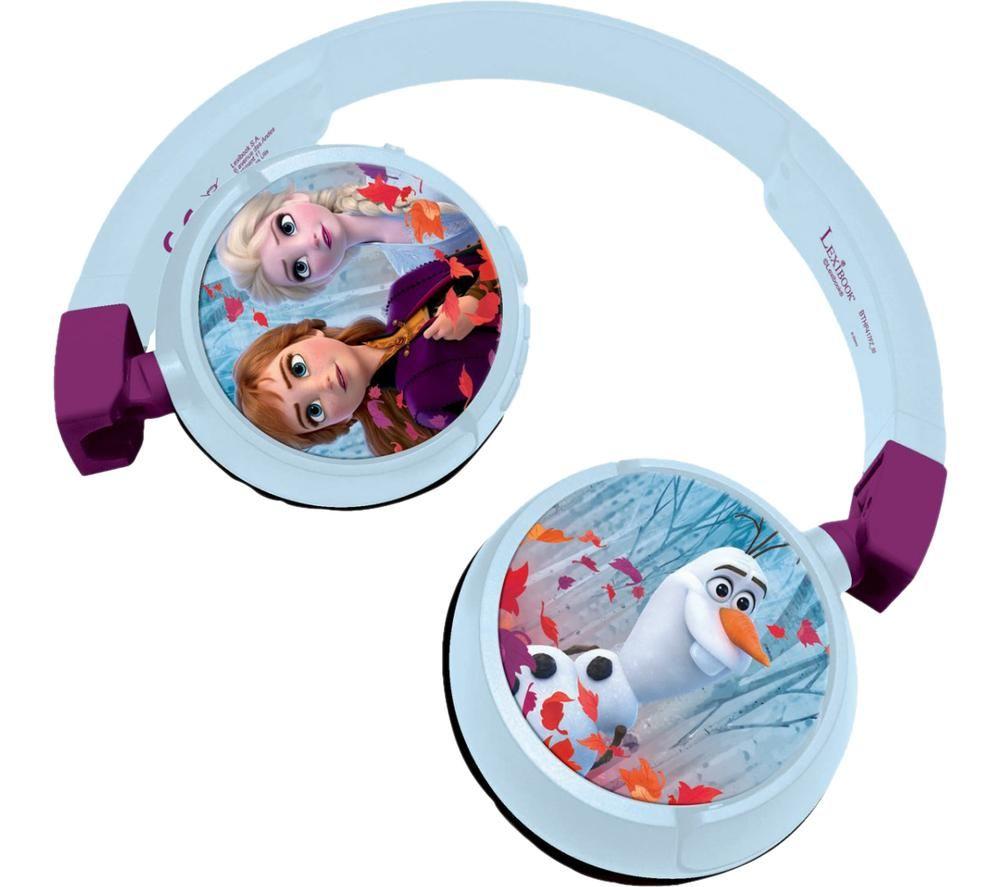 LEXIBOOK HPBT010FZ-00 Headphones - Disney Frozen Elsa & Anna