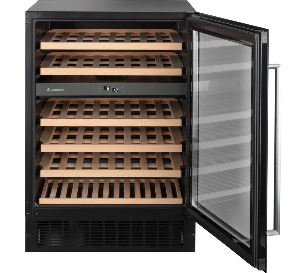CANDY CCVB 60D UK/N Wine Cooler - Black
