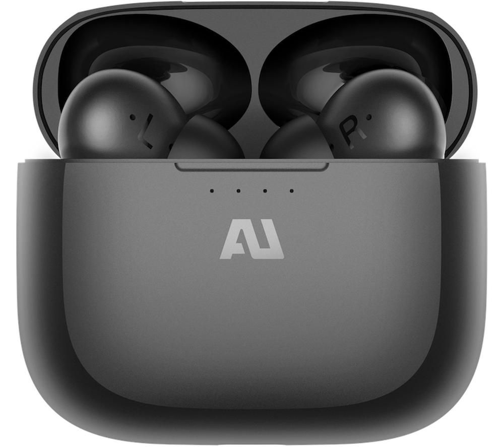 AUSOUNDS AU-Frequency Wireless Bluetooth Noise-Cancelling Earphones - Black