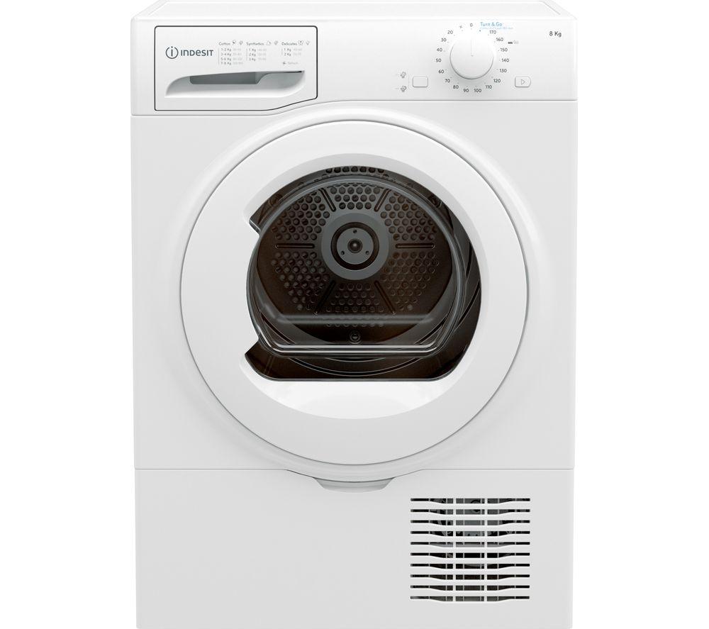 INDESIT I2 D81W UK 8 kg Condenser Tumble Dryer - White