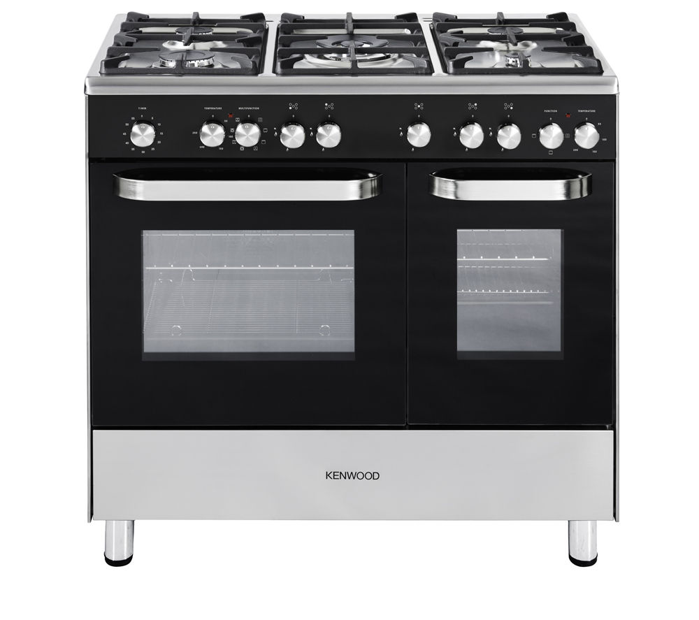 buy kenwood ck405 dual fuel range cooker black free. Black Bedroom Furniture Sets. Home Design Ideas