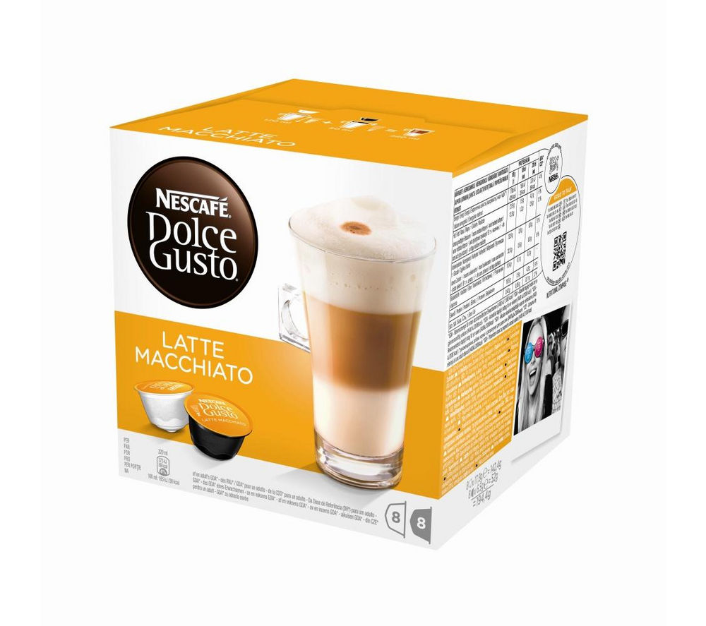 Image of NESCAFE Dolce Gusto Latte Macchiato - Pack of 8