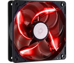 COOLERMASTER SickleFlow 120 mm Case Fan - Red LED