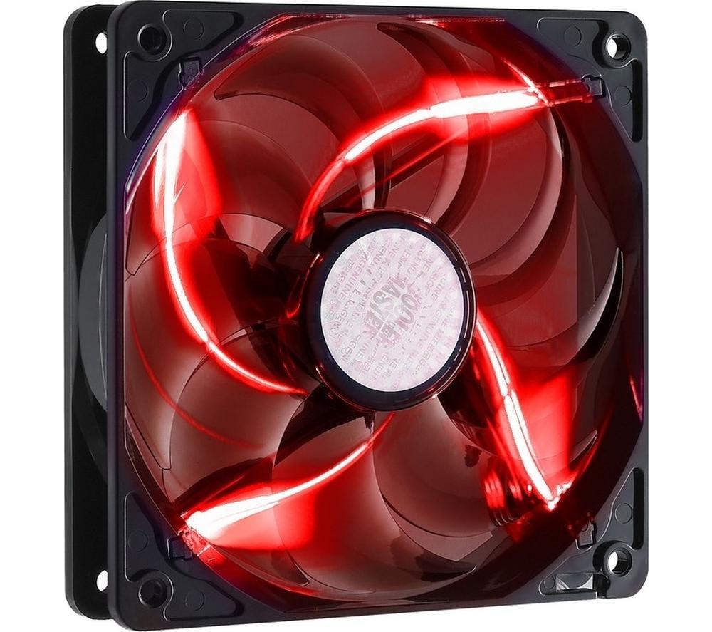 COOLERMASTER SickleFlow 120 mm Case Fan - Red LED