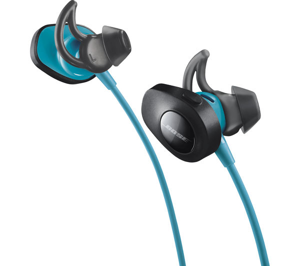e74bf46df26 Buy BOSE SoundSport Wireless Bluetooth Headphones - Aqua | Free ...