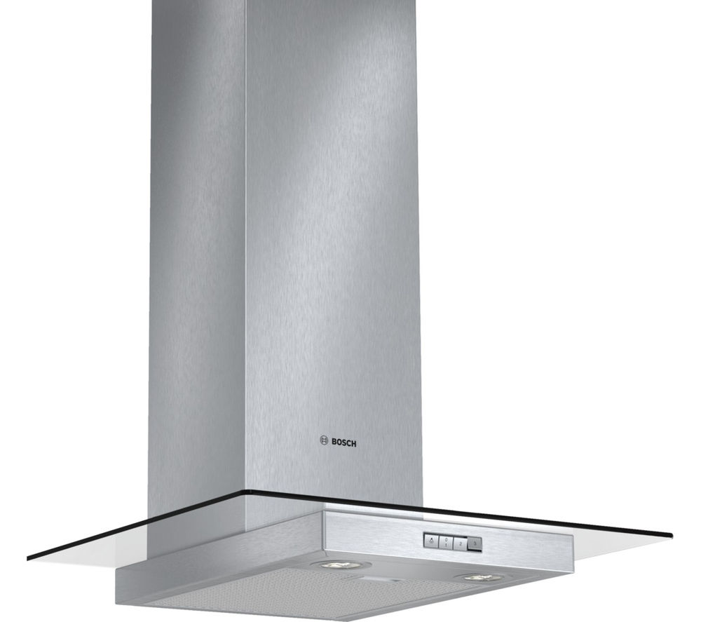 Image of BOSCH DWA064W50B Chimney Cooker Hood - Stainless Steel, Stainless Steel