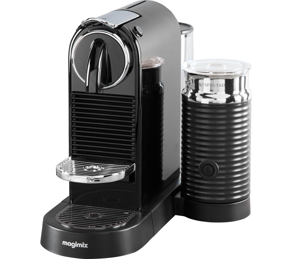 Buy nespresso by magimix citiz milk coffee machine black free deliv - Machine nespresso 2 tasses ...