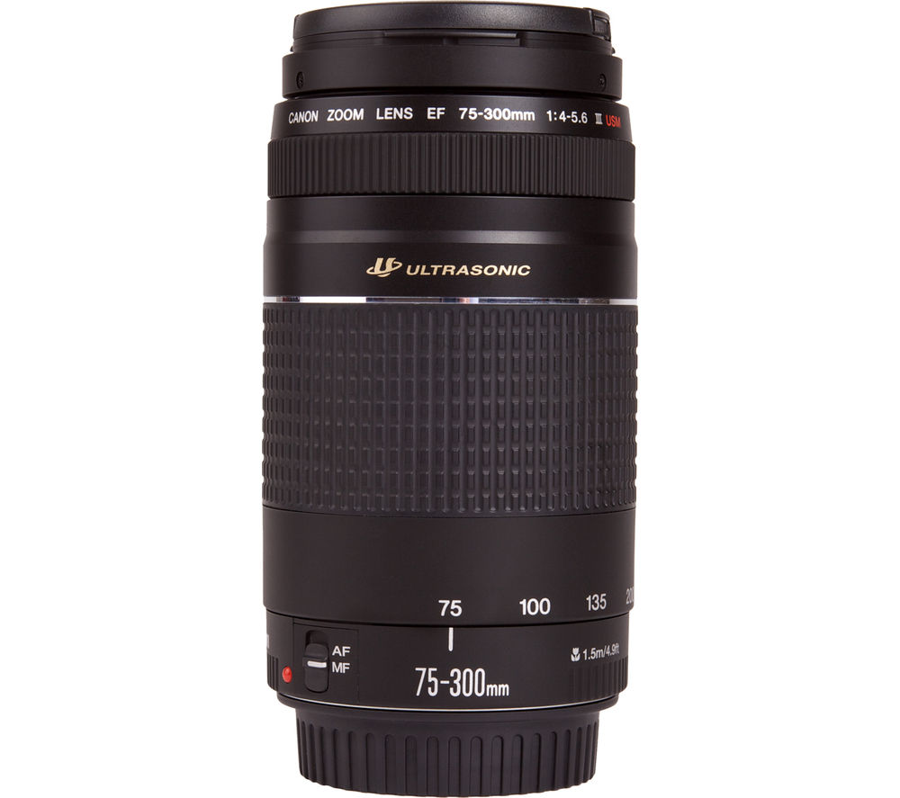 CANON EF 75-300 mm f/4.0-5.6 III Telephoto Zoom Lens