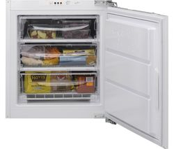 HOTPOINT HZ A1 Aquarius Integrated Undercounter Freezer - White