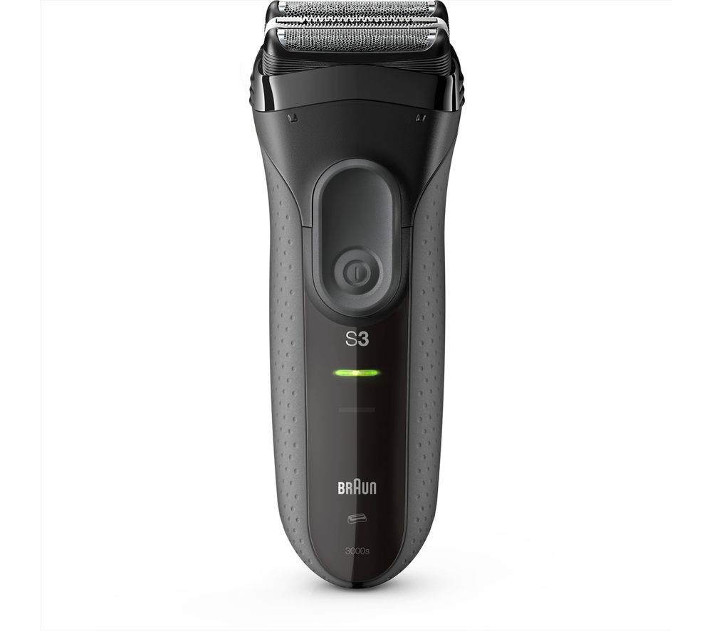 BRAUN Series 3 3000s Wet & Dry Foil Shaver - Black