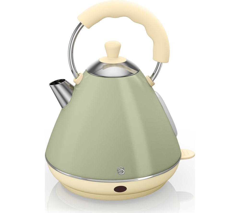 SWAN Pyramid SK261030CN Traditional Kettle - Green