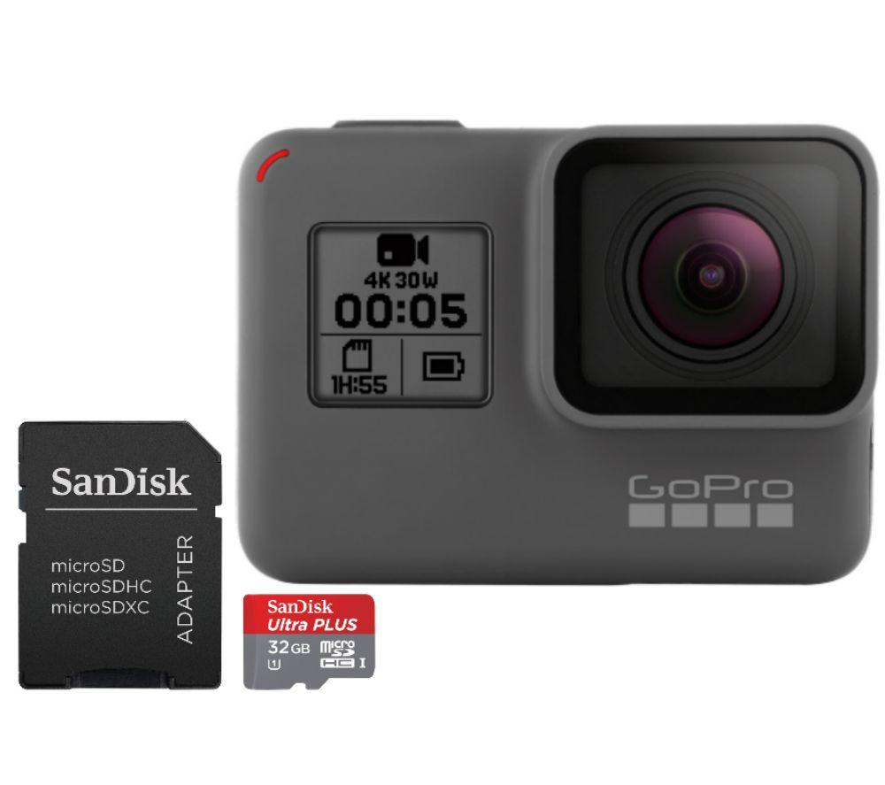 Buy GOPRO HERO5 Action Camcorder Amp Sandisk Ultra