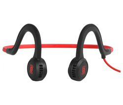 AFTERSHOKZ Sportz Titanium Headphones - Lava Red