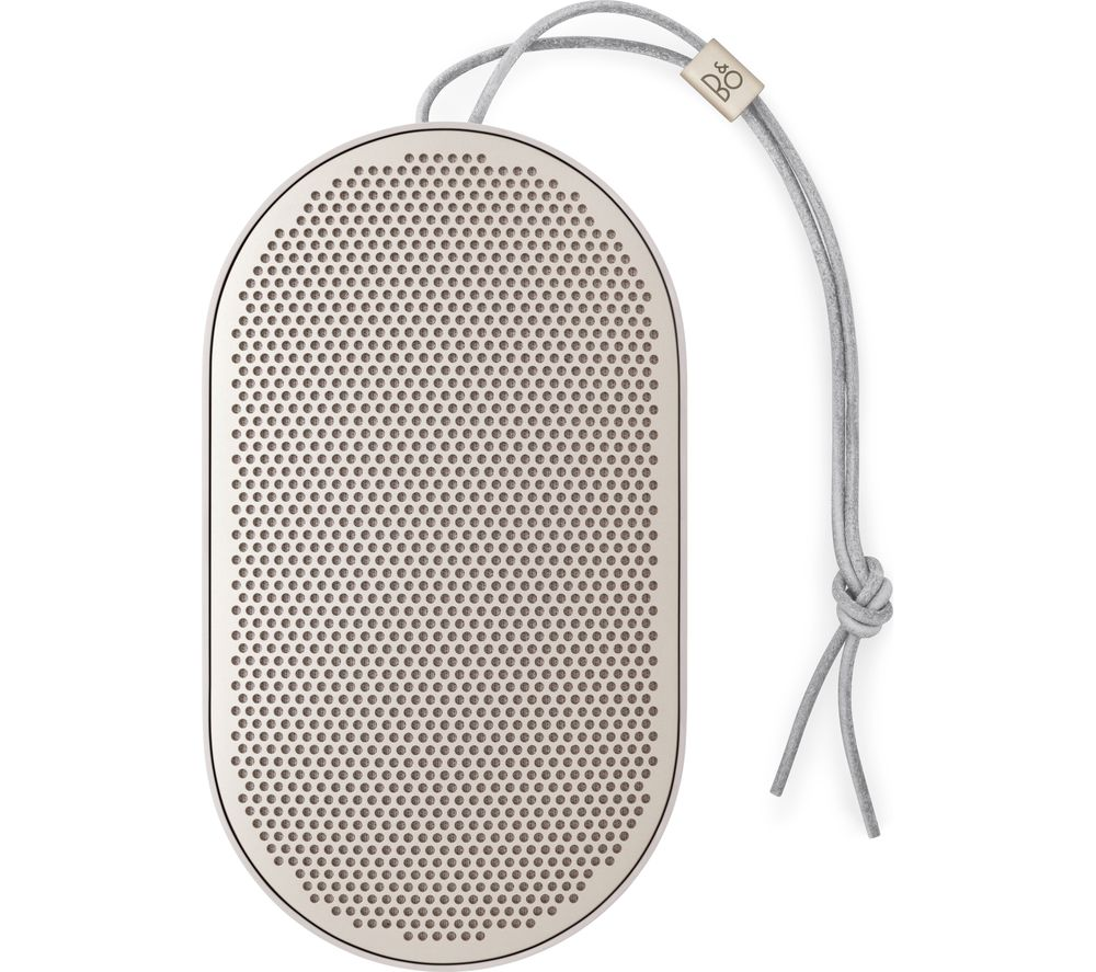 Image of B&O B&O BEOPLAY P2 Portable Bluetooth Wireless Speaker - Sand Stone, Sand