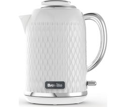 Curve VKT117 Jug Kettle - Chrome White