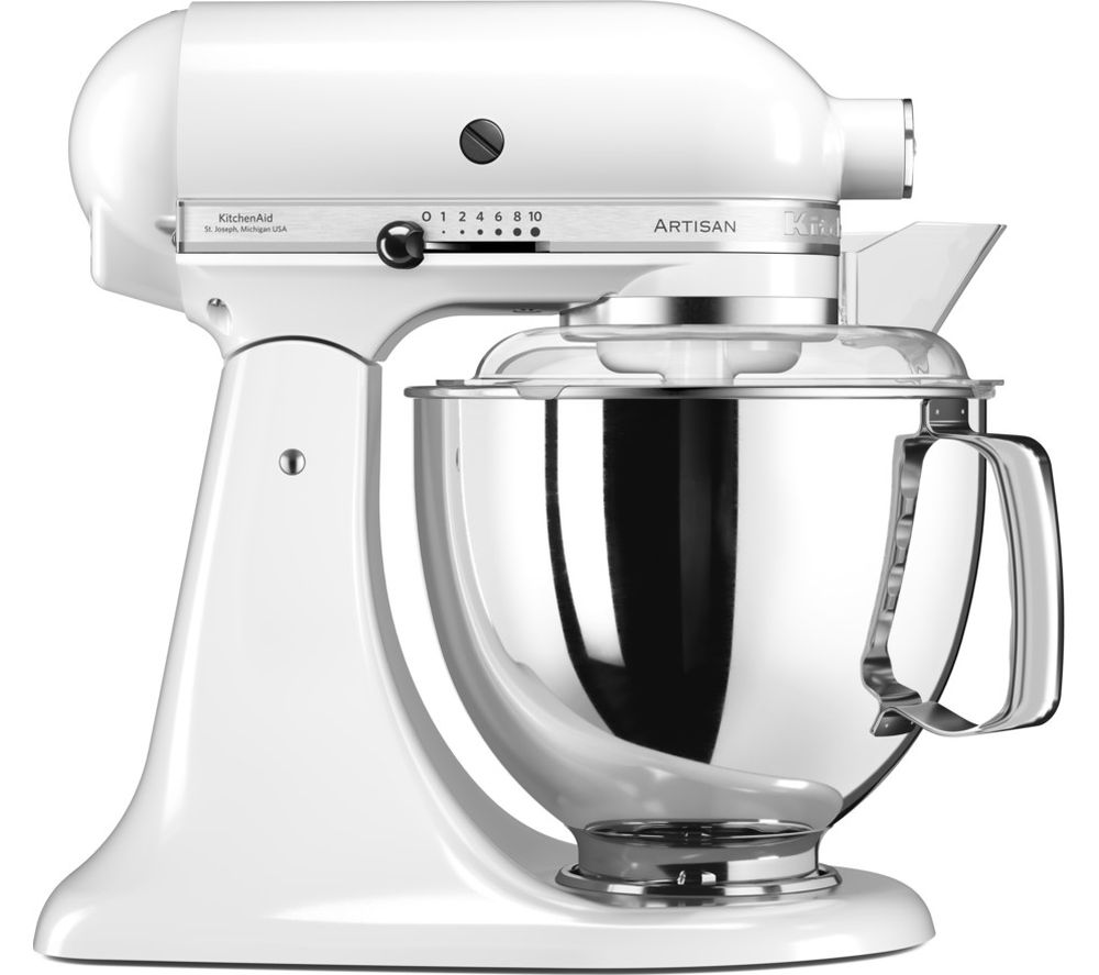 Buy KITCHENAID Artisan 5KSM175PSB Stand Mixer - White | Free ...