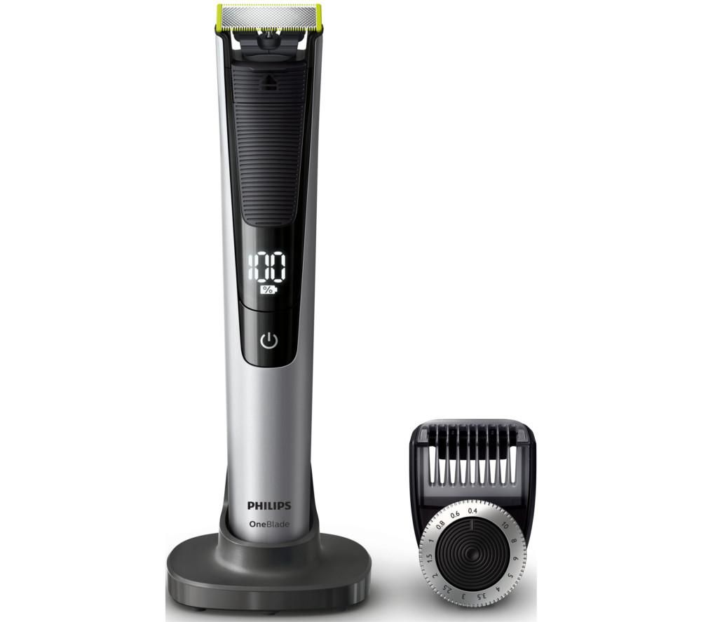 03952f429d25 Buy PHILIPS OneBlade Pro QP6520 25 Wet   Dry Trimmer - Silver   Black