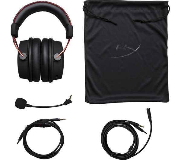 0b3632062998 HYPERX Cloud Alpha Gaming Headset - Black   Red Fast Delivery