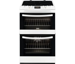ZANUSSI ZCV48300WA 55 cm Electric Ceramic Cooker - White