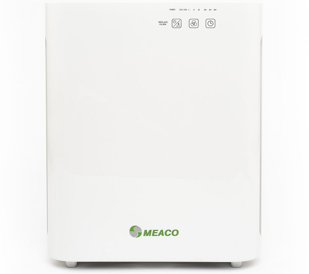 Image of MEACO MEACOClean CA-HEPA 47x5 Portable Air Purifier, Charcoal