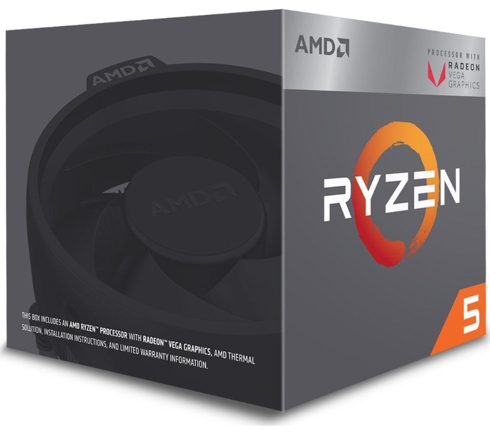 Buy AMD Ryzen 5 2400G Processor | Free Delivery | Currys