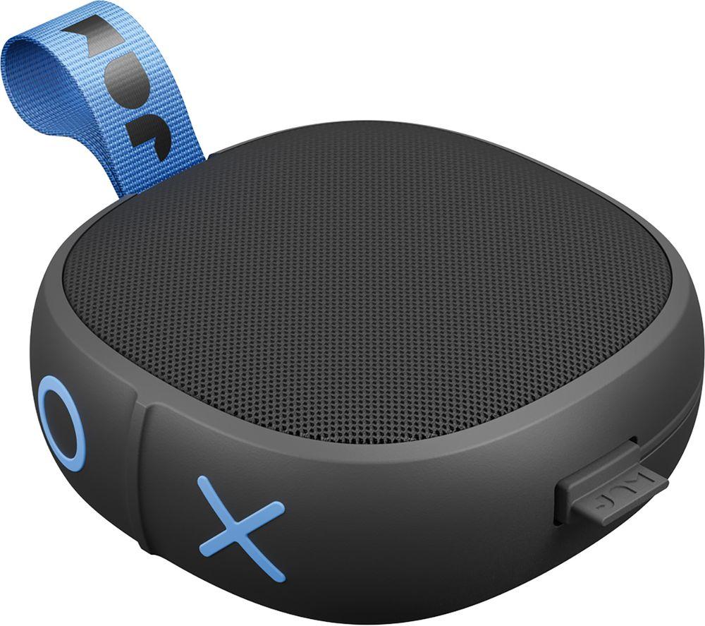 JAM Hang Up HX-P101BK Portable Bluetooth Speaker - Black, Black