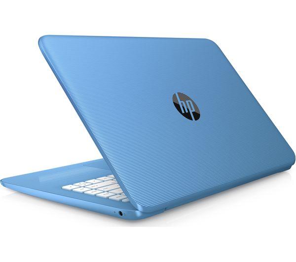 "Image of HP Stream 14-ax058sa 14"" Intel® Celeron™ Laptop - 32 GB eMMC, Blue"