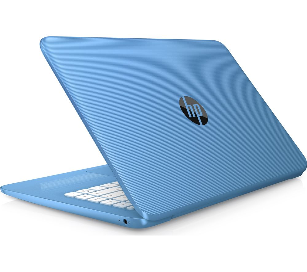 "Image of HP Stream 14-ax058sa 14"" Intel® Celeron Laptop - 32 GB eMMC, Blue, Blue"