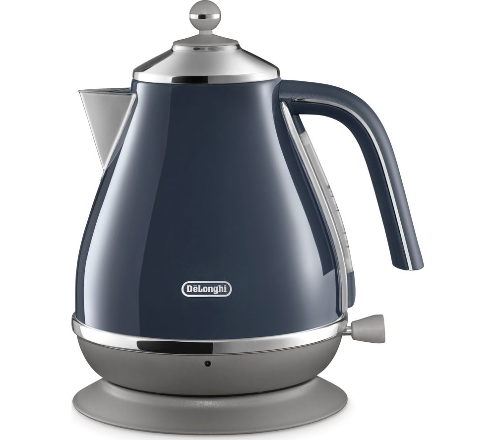 DELONGHI Icona Capitals KBOC3001.BL Jug Kettle - Blue