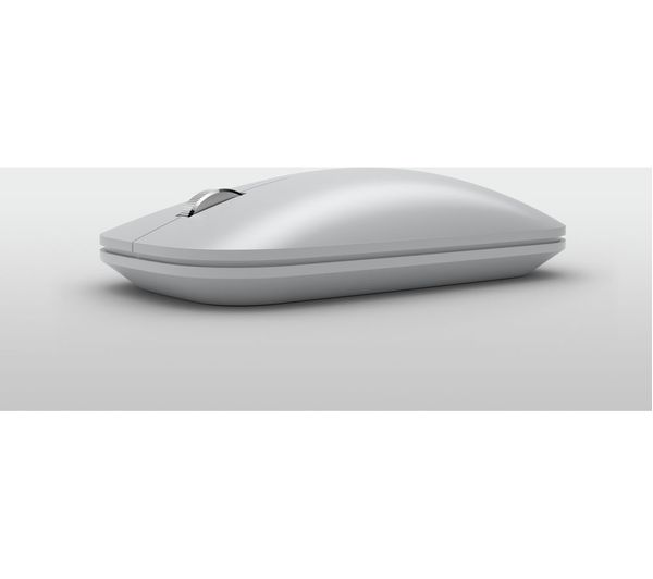 19ca4ef76e1 Buy MICROSOFT Surface Mobile Wireless Mouse - Silver | Free Delivery ...