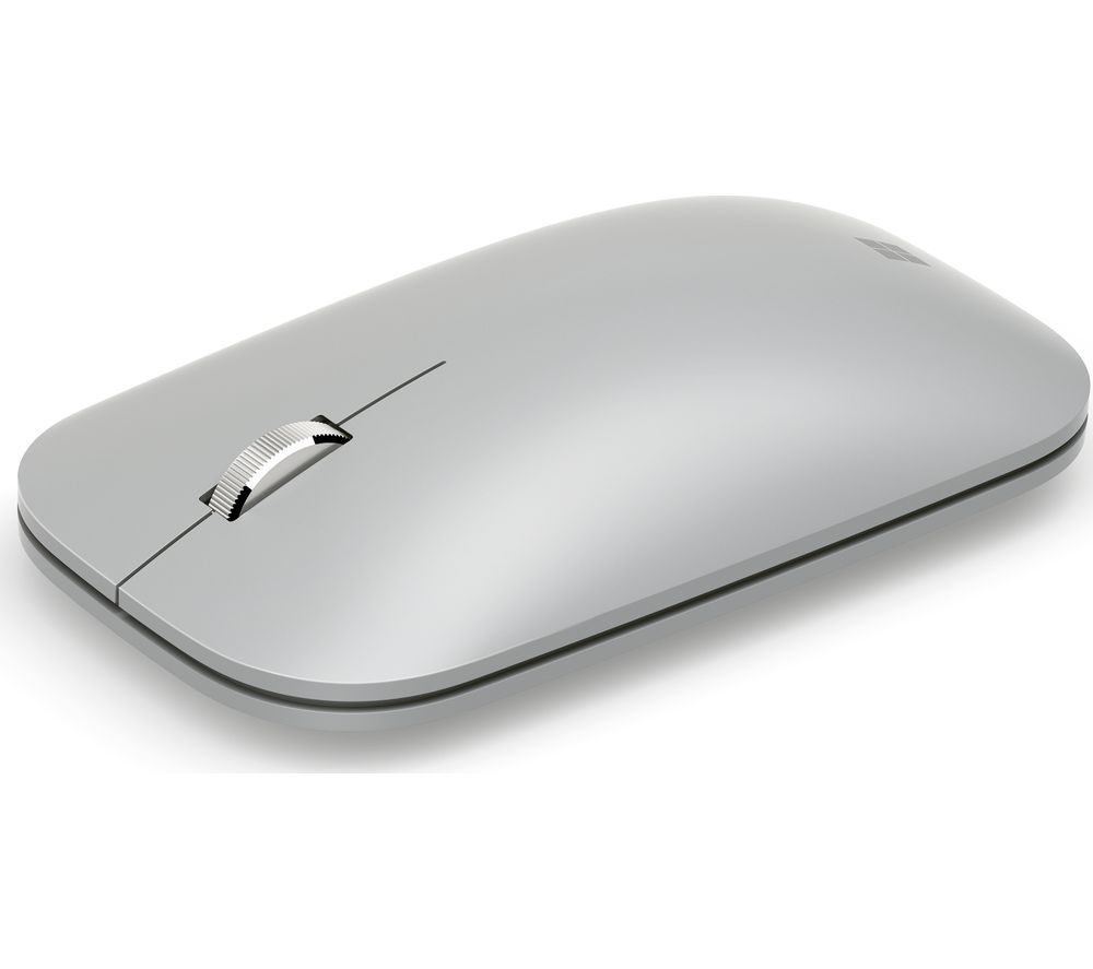 2a047ea771f MICROSOFT Surface Mobile Wireless Mouse - Silver Deals | PC World