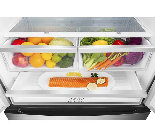 HISENSE RF702N4IS1 Fridge Freezer - Stainless Steel