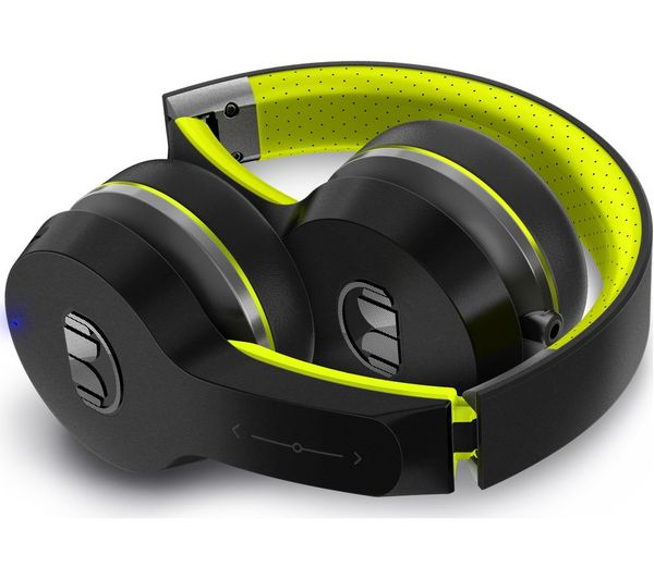 a76692ecd06 MONSTER iSport Freedom Wireless Bluetooth Sports Headphones - Black & Green