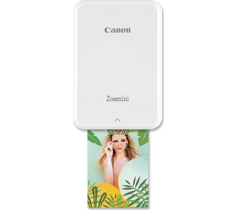 CANON Zoemini Mobile Photo Printer - White