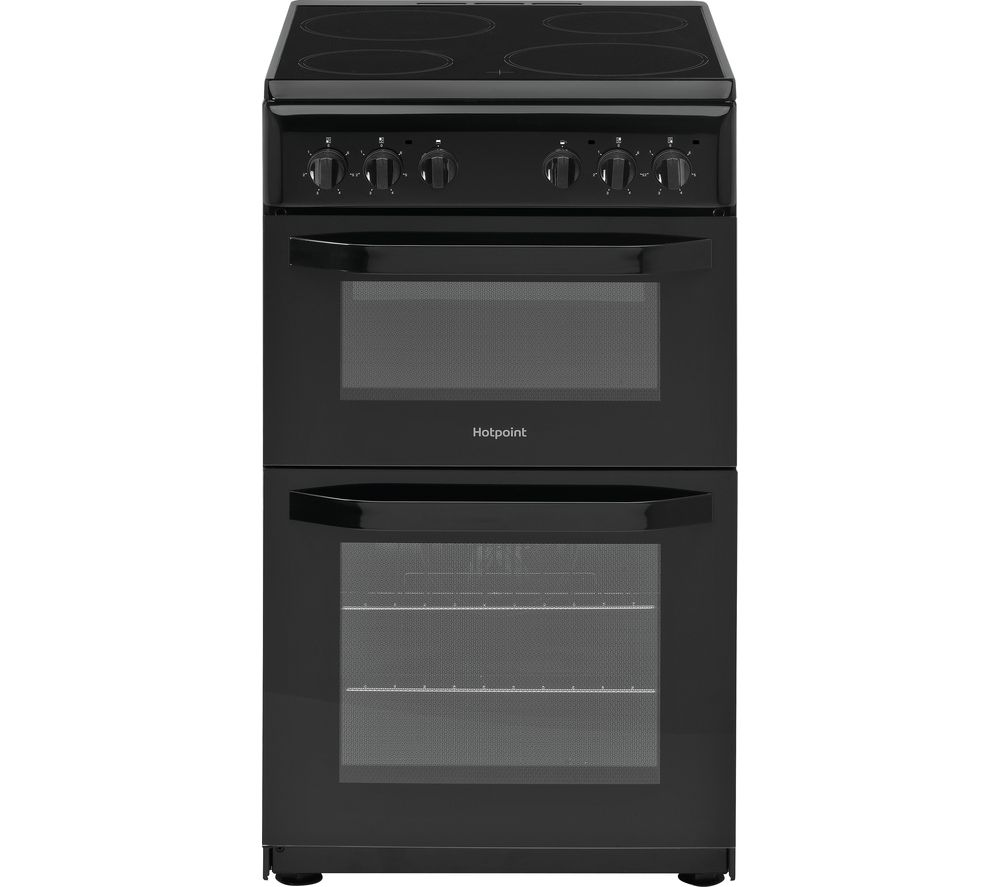 HD5V92KCB 50 cm Electric Ceramic Cooker - Black, Black