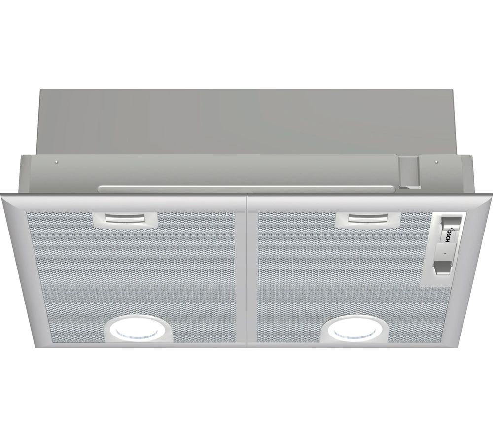 BOSCH Serie 4 DHL555BLGB Canopy Cooker Hood - Silver